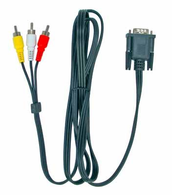 Spojni AV kabel in/out, RS323/RCA Audio stereo/video