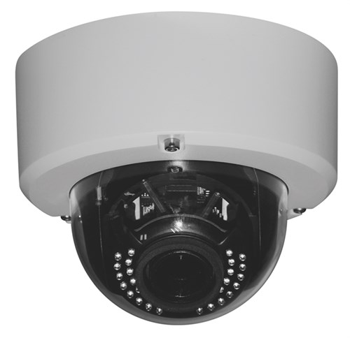 IP dome kamera 4MP, 3.3-10.5mm varifocalna leća, PoE, 30m IR, H.265